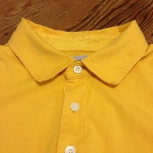 Other - Jack Spade Canary Yellow Polo Shirt XL